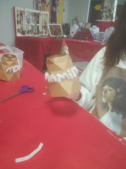 Atelier DIY au marché de Noël des Sorinières