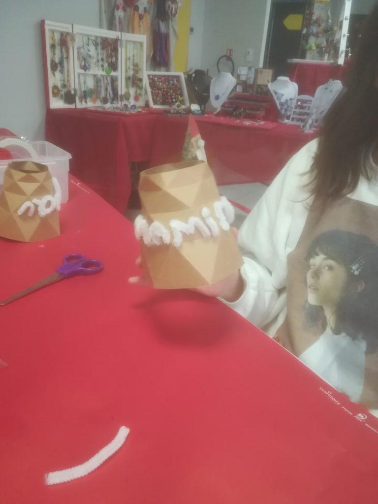 Ateliers DIY au marché de Noël